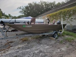 Used G3 1544 LW Freshwater Fishing Boat For Sale