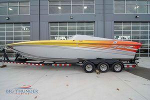 Used Sunsation 32 SSR Dominator High Performance Boat For Sale