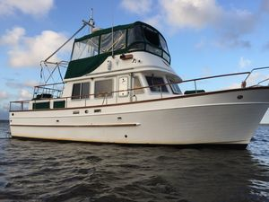 Used Marine Trader 38 Double Cabin Trawler Boat For Sale