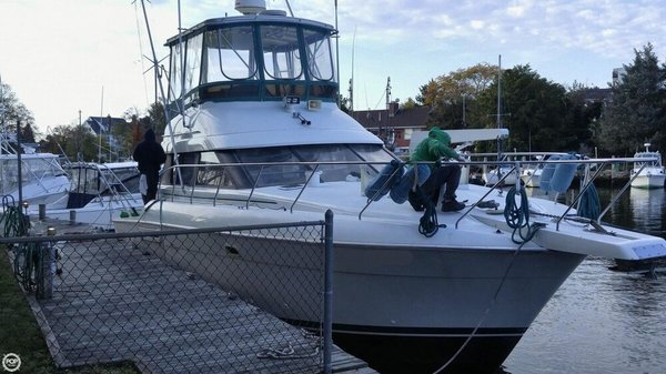 Used Silverton 41C Sports Fishing Boat For Sale