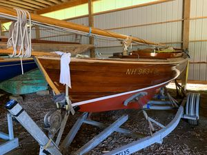 Used Herreshoff Buzzards Bay 14 Daysailer Sailboat For Sale