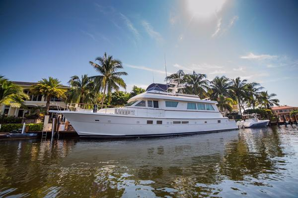 Used Hatteras Extended Cockpit Motor Yacht For Sale