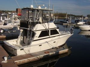 Used Viking 35 Convertible Fishing Boat For Sale