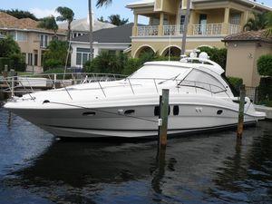 Used Sea Ray 480 Sundancer 2007 Express Cruiser Boat For Sale