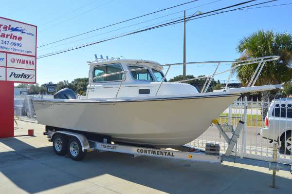New Parker Boats 2120 DV Sport Cabin Pilothouse Boat For Sale