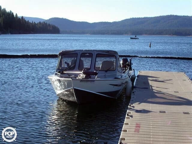 1998 used design concepts 20 39 pacific angler delta sf ob for How much does a fishing boat cost