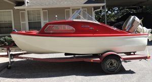 Used Antique Seven Seas Performer Cruiser Boat For Sale