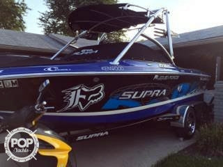 Used Supra 21V Launch Ski and Wakeboard Boat For Sale