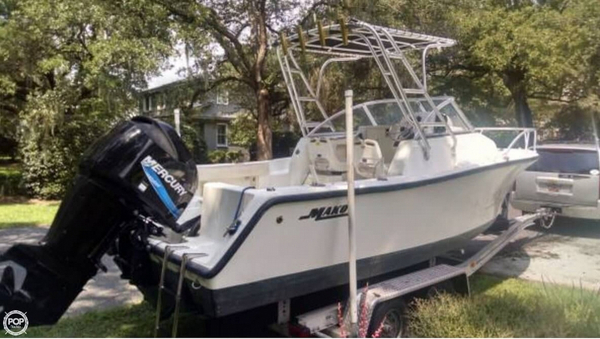 Used Mako 215 WA Walkaround Fishing Boat For Sale