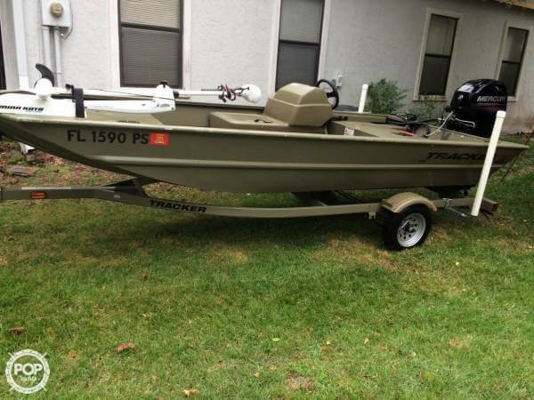 Used Tracker Grizzly 1648 SC Skiff Fishing Boat For Sale