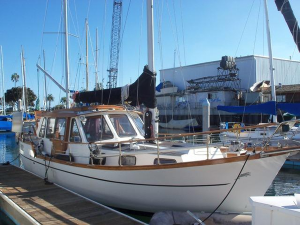 Used Nauticat 33 Motorsailer Sailboat For Sale