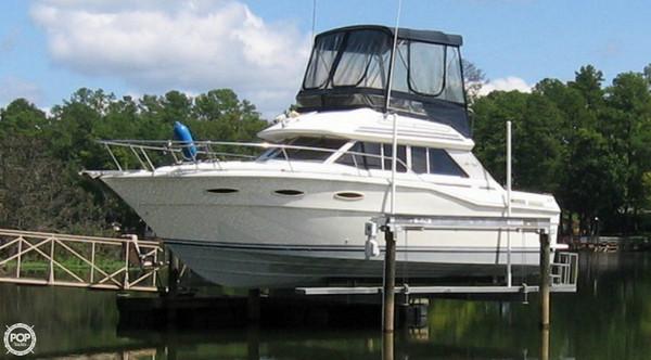 Used Sea Ray Sedan Bridge SRV300 Sports Fishing Boat For Sale
