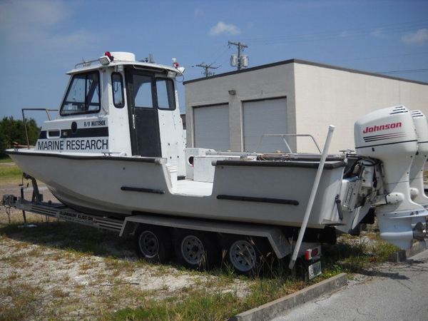 Used Boston Whaler Pilot House Dive Boat For Sale