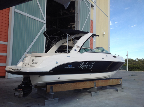 Used Chaparral 255 SSI Express Cruiser Boat For Sale