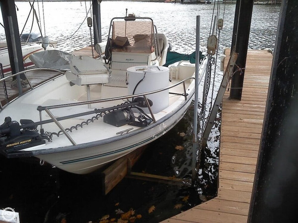 Used Key Largo 196 Center Console Fishing Boat For Sale