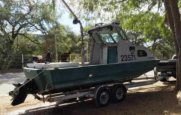 Used Radon 24 Dive Boat For Sale