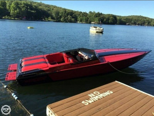 Used Warlock World Class 23 High Performance Boat For Sale