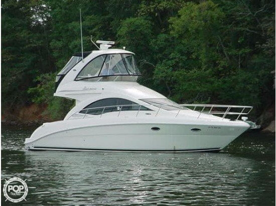 Used Sea Ray 36 Sedan Bridge Express Cruiser Boat For Sale