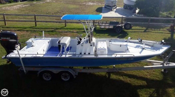 Used Blue Wave 244 Magnum Center Console Fishing Boat For Sale
