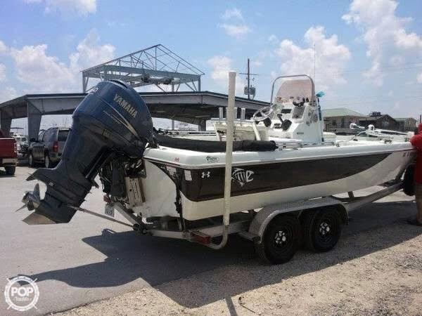 2008 used polar bay 220 center console fishing boat for for Fishing boats for sale in texas