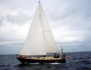 Used Bruce Roberts 38 Sloop Cruiser Sailboat For Sale