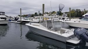 Used Jupiter Forward Seating Saltwater Fishing Boat For Sale