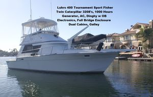 Used Luhrs 400 Tournament SportFisher Sports Boat For Sale
