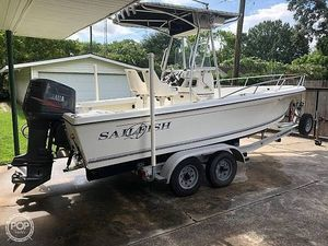 Used Sailfish 216CC Center Console Fishing Boat For Sale