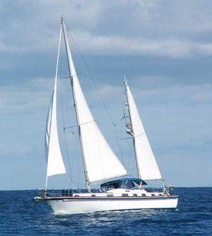 Used Gulfstar Mororsailer Center Cockpit Sailboat For Sale