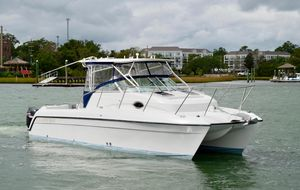 Used Glacier Bay 2670 Isle Runner2670 Isle Runner Power Catamaran Boat For Sale