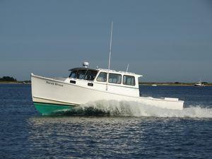 Used Willis Beal Fisherman/cruiser Downeast Fishing Boat For Sale