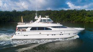 Used Horizon Enclosed Bridge Motor Yacht For Sale