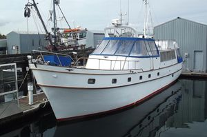Used Roughwater 58 Trawler Boat For Sale