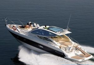 Used Cranchi Hard Top Mediterranee 43HT Cruiser Boat For Sale