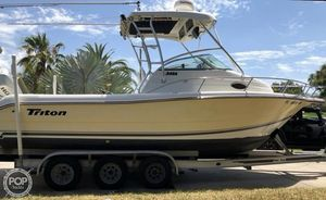 Used Triton 2486 WA Walkaround Fishing Boat For Sale
