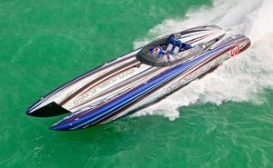 Used Mystic Powerboats C4400 High Performance Boat For Sale