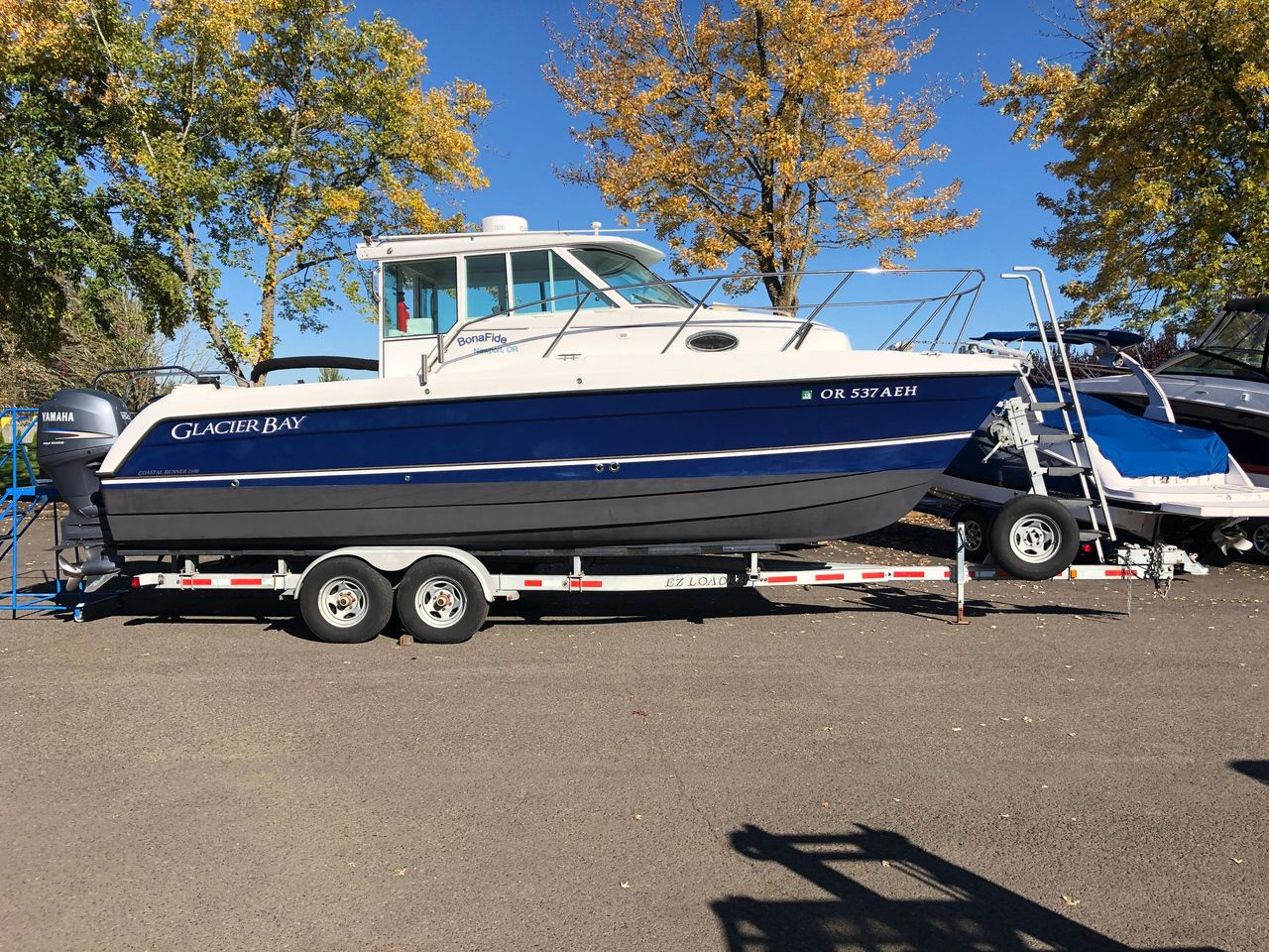 Glacier Bay Boats >> 2007 Used Glacier Bay 2690 Coastal Runner Power Catamaran