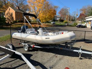 Used Zodiac Bayrunner 500 Rigid Sports Inflatable Boat For Sale