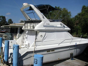 Used Sea Ray 370 Sedan Bridge Express Cruiser Boat For Sale