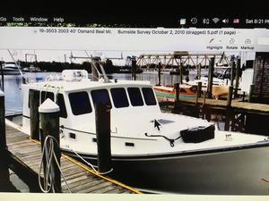 Used H&h Marine Sportfish Downeast Fishing Boat For Sale