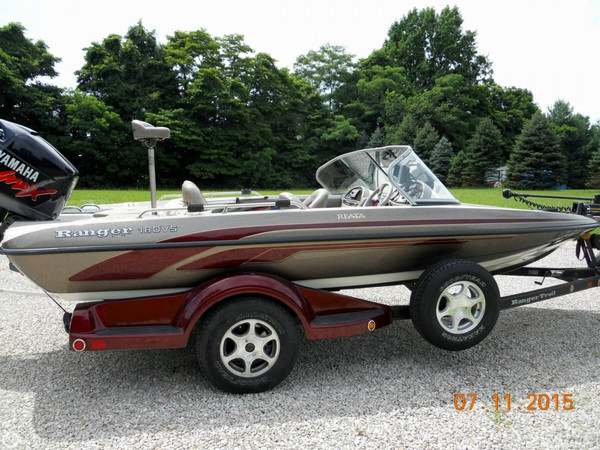 Used Ranger Boats Reata 180VS Bass Boat For Sale