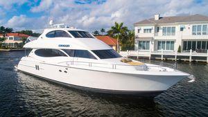 Used Lazzara Enclosed Bridge Motor Yacht For Sale