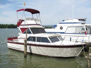 Used Marinette Flybridge Express Cruiser Boat For Sale