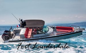 New Brabus Shadow 500 by AxoparShadow 500 by Axopar Center Console Fishing Boat For Sale