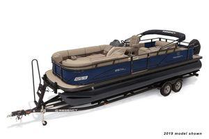 New Regency 250 DL3250 DL3 Pontoon Boat For Sale