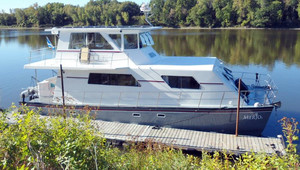 Used Powercat Power Catamaran Boat For Sale