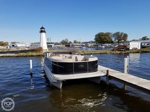 Used Avalon LSZ 2285 CR Pontoon Boat For Sale