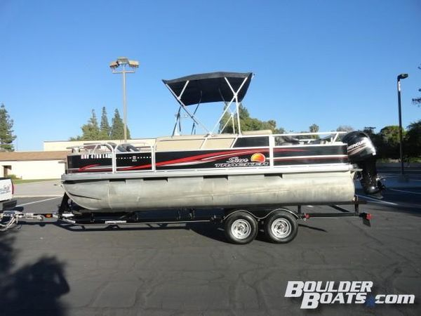 Used Sun Tracker Fishin' Barge 22 DLXFishin' Barge 22 DLX Pontoon Boat For Sale