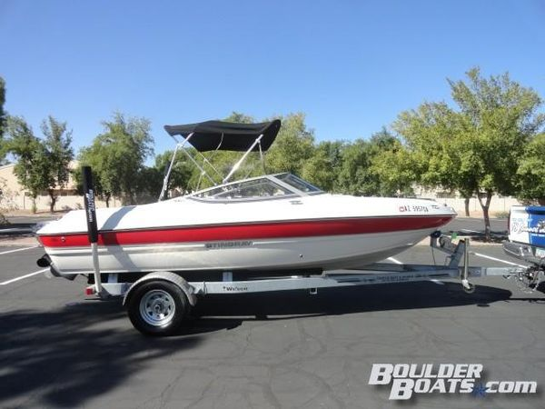 Used Stingray 198RX198RX Bowrider Boat For Sale