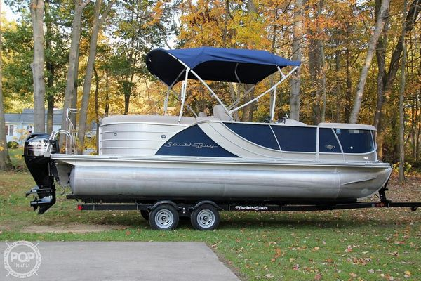 Used South Bay 521RS Pontoon Boat For Sale